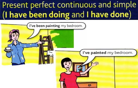 Present perfect and continuous
